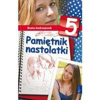 Książki dla dzieci, PAMIĘTNIK NASTOLATKI 5 (opr. miękka)