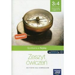 Spotkania z fizyką Część 3 i 4 Zeszyt ćwiczeń - Bartłomiej Piotrowski (opr. miękka)