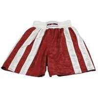 Pozostałe sporty walki, Spodenki bokserskie TOP TEN - SBOX-TT1 - czerwono-biały
