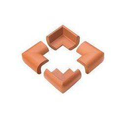 Zabezpieczająca piankowa osłona narożnikowa 4 szt. BabyOno (brązowa)