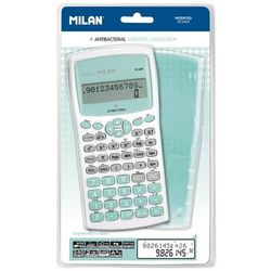 Kalkulator naukowy MILAN M240 ANTIBACTERIAL - zielony (159110IBGGRBL)