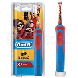 BRAUN Oral-B Stages Power D12 - szczoteczka elektryczna dla dzieci - wersja INIEMAMOCNI