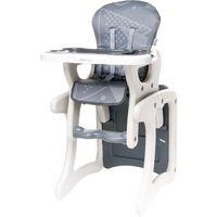 Krzesełka do karmienia, 4Baby Krzesełko do karmienia Fashion, Grey - BEZPŁATNY ODBIÓR: WROCŁAW!