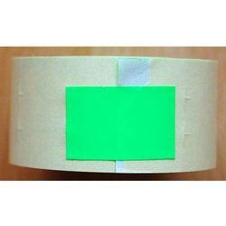 Rolka do metkownicy dwurzędowej - 2,6x1,6cm zielona prosta