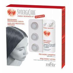 Itely Hairfashion SYNERGICARE ENERGY RESPONSE KIT WOMAN Energetyzująca kuracja dla kobiet do walki z wypadaniem włosów