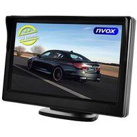"Monitory samochodowe, NVOX HM5002HD Monitor LCD 5"" AV 12V"