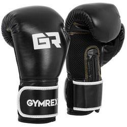 Rękawice bokserskie - 12 oz - czarne