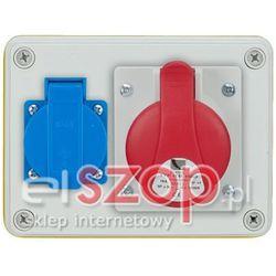 ROZDZ.R-BOX 32A/5P 1X230V