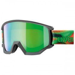 UVEX gogle Athletic FM mirror green lasergold lite (S3)
