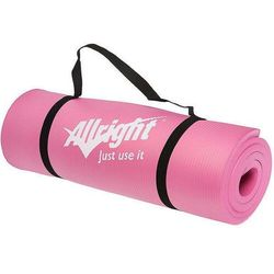 Mata do ćwiczeń Allright różowa NBR 180x60x1,5cm FE06016