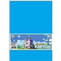 Pozostałe artykuły szkolne, Karton kolorowy A5/10 arkuszy 230g/m2 FRESH