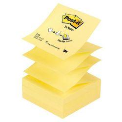 Bloczek samoprzylepny POST-IT Z-Notes (R-330), 76x76mm, 1x100 kart., żółty