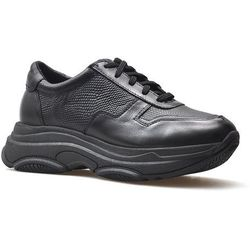 Sneakersy Nessi 19001 Czarne+RIO lico