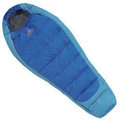 Śpiwór syntetyczny MISTRAL JUNIOR blue