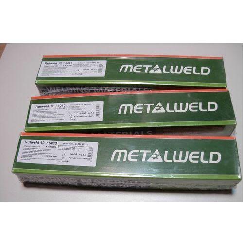 Akcesoria spawalnicze, ELEKTRODY DO SPAWANIA RUTWELD 12 ŚREDNICA 2,5 mm