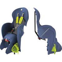 Foteliki rowerowe, Fotelik dziecięcy Wallaroo niebieski KROSS - niebiesko-zielony Fotelik Carrirer GP na bagażnik (--37%)