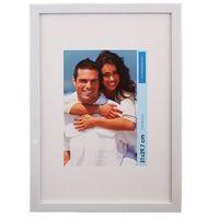 Ramki na zdjęcia, Ramka na zdjęcia 30 x 40 cm połysk biała