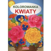 Kolorowanki, Kwiaty, kolorowanka - Jarosław Żukowski