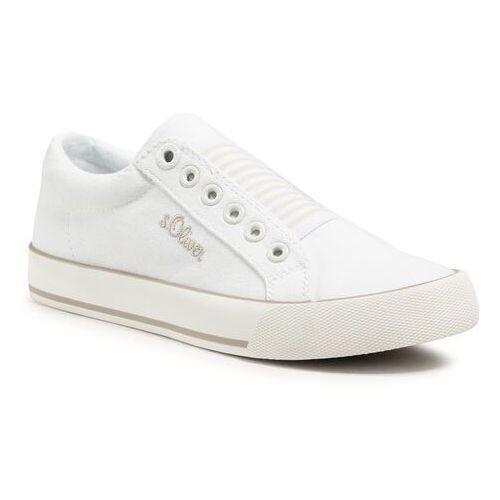 Damskie obuwie sportowe, Tenisówki S.OLIVER - 5-24601-26 White 100