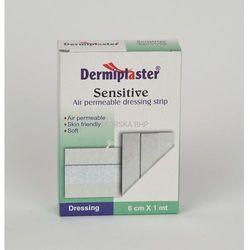 Plaster z opatrunkiem 6 cm x 1 m włókninowy - zestaw PSP R1