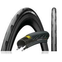 Opony i dętki do roweru, Opona Continental Grand Prix 5000 Vectran 700x23C czarna, zwijana, Black Chili - 23C