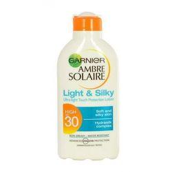 Garnier Ambre Solaire Light & Silky SPF30 preparat do opalania ciała 200 ml unisex