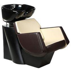 Myjnia fryzjerska NICO brązowo-kremowa BD-7821