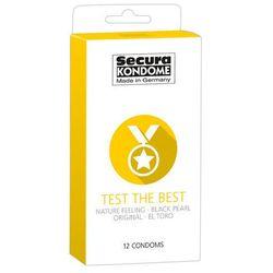 Prezerwatywy Secura Test the Best 12 szt. 433056