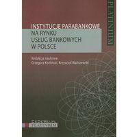 Książki o biznesie i ekonomii, Instytucje parabankowe na rynku usług bankowych w Polsce (opr. miękka)