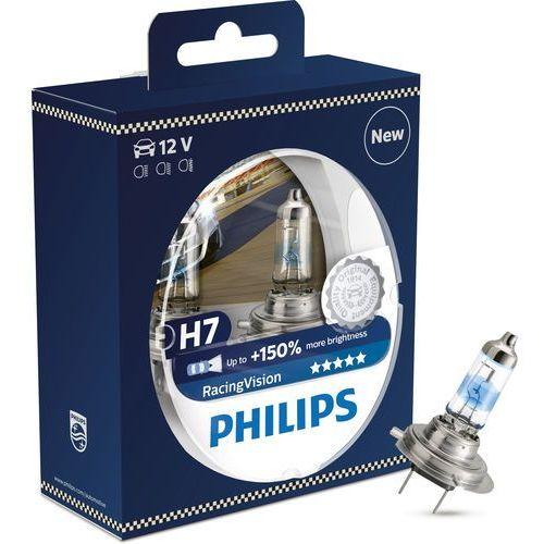 Żarówki halogenowe samochodowe, ZESTAW 2x Żarówka samochodowa Philips RACINGVISION 12972RVS2 H7 PX26d/55W/12V