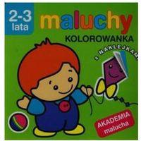 Literatura młodzieżowa, Maluchy. kolorowanka z naklejkami. akademia malucha 2-3 lata/ - praca zbiorowa (opr. miękka)