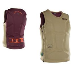 Kamizelka ION - Collision Vest 2018 - Khaki/Dark Berry