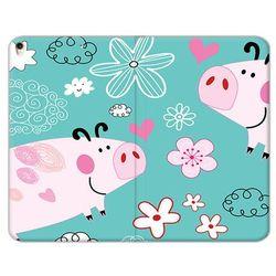 Apple iPad Air (2019) - etui na tablet Flex Book Fantastic - różowe świnki