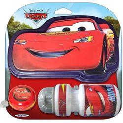 Zestaw Cars - bidon, dzwonek, tabliczka na kierownicę
