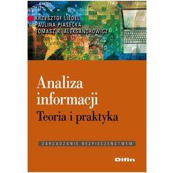 Analiza informacji.Teoria i praktyka (opr. miękka)