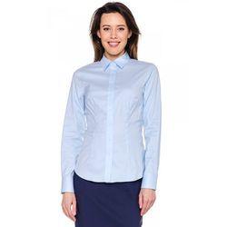 Niebieska, klasyczna koszula - Sobora