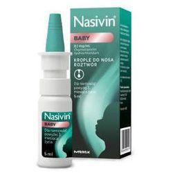NASIVIN Baby 0,1mg/ml aerozol do nosa 5ml