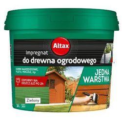 ALTAX- impregnat do drewna ogrodowego, zielony, 5 l