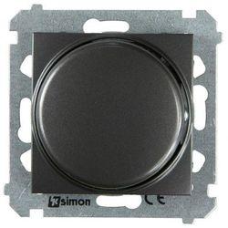 Ściemniacz przyciskowo-obrotowy SIMON 54 Antracytowy KONTAKT SIMON