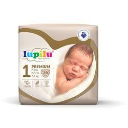 LUPILU® Pieluchy PREMIUM 1 New born (2-5 kg), 26 sztuk