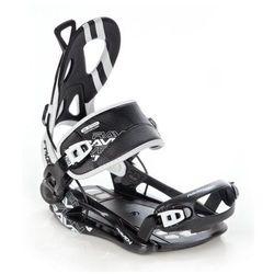 Wiązania snowboardowe raven ft400 (black) 2020
