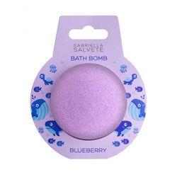 Gabriella Salvete Kids Bath Bomb Blueberry kąpielowa kula 100 g dla dzieci