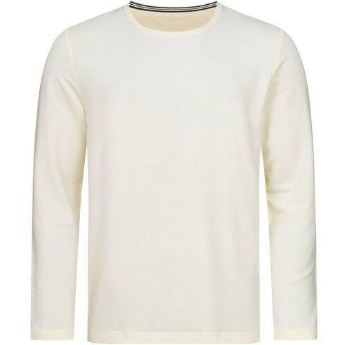 Bluzy męskie, super.natural Wayfarer Sweter Mężczyźni, fresh white M 2020 Bluzy