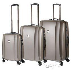 Zestaw walizek Titan Xenon Deluxe - szampański