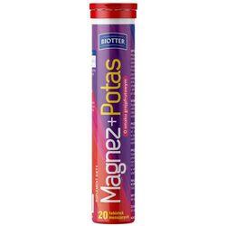 BIOTTER Magnez + Potas x 20 tabletek musujących