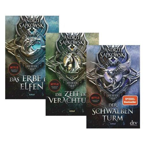 Pozostałe książki, PAKIET Der Hexer - Andrzej Sapkowski