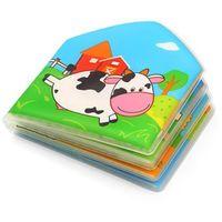 Zabawki do kąpieli, BabyOno Książeczka kąpielowa COUNTRY ANIMALS z piszczkiem