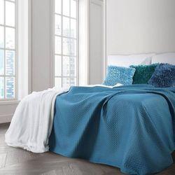 Narzuta dekoracyjna BONI 200x220 Eurofirany niebieski