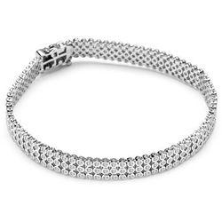 Scarlett - srebrna bransoletka z cyrkoniami