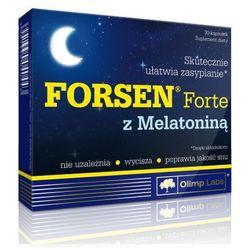 Olimp Forsen Forte z Melatoniną 30 kaps.